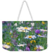 It's A Daisy Kind Of Day Weekender Tote Bag
