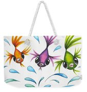 It's A Fun World Out There Weekender Tote Bag