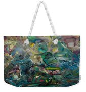 Charming Chasms Series It's A Jungle Weekender Tote Bag
