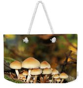 It's A Small World Mushrooms Weekender Tote Bag