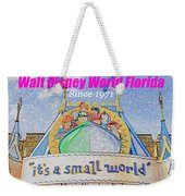 It's A Small World Poster Art Weekender Tote Bag