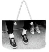It's All Black And White Weekender Tote Bag