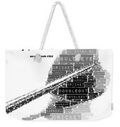 It's All Fun And Games Dart Weekender Tote Bag