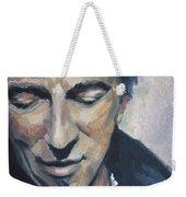 It's Boss Time II - Bruce Springsteen Portrait Weekender Tote Bag