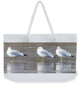 It's Cold - Ice Fishing Anyone Weekender Tote Bag