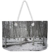 Its Cold Outside Weekender Tote Bag