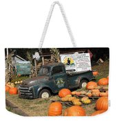 It's Fall At Sunrise Grocery Weekender Tote Bag