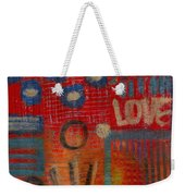 It's Love Weekender Tote Bag