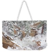 It's Mid May. We're Fast Approaching The End Of Our Snow Season.  Weekender Tote Bag