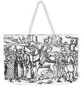 Ivan Iv Vasilevich (1530-1584) Weekender Tote Bag