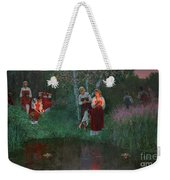 Ivan Kupala. Fortunetelling For Wreaths. Weekender Tote Bag