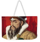 Ivan The Terrible Weekender Tote Bag by English School