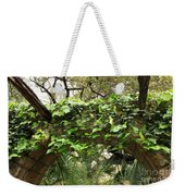 Ivy-covered Arch At The Alamo Weekender Tote Bag