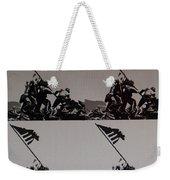 Iwo Jima Weekender Tote Bag