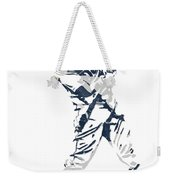 J D Martinez Detroit Tigers Pixel Art 3 Weekender Tote Bag
