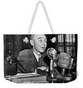 J. Robert Oppenheimer Weekender Tote Bag