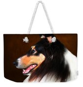 Black Jack- Collie Weekender Tote Bag