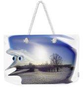 Jack Frost Weekender Tote Bag