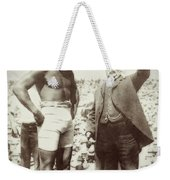 Jack Johnson - Heavyweight Boxing Champion  1908 - 1915 Weekender Tote Bag