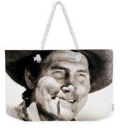 Jack Palance, Vintage Actor Weekender Tote Bag
