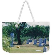 Jack Rabbit In Cementery Weekender Tote Bag