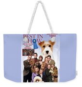 Jack Russell Terrier Art Canvas Print - Best In Show Movie Poster Weekender Tote Bag