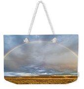 Jackson Hole Rainbow Weekender Tote Bag