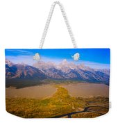 Jackson Hole Wy Tetons National Park Views Weekender Tote Bag