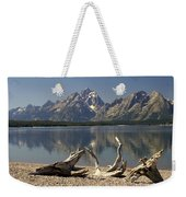 Jackson Lake 1 Weekender Tote Bag