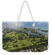 Jackson Park Golf Course In Chicago Aerial Photo Weekender Tote Bag