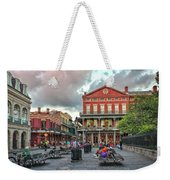 Jackson Square Evening Weekender Tote Bag