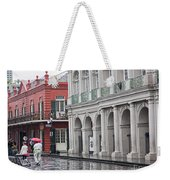 Jackson Square Rainy Day  Weekender Tote Bag
