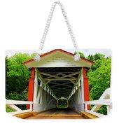 Jackson's Mill Covered Bridge Weekender Tote Bag