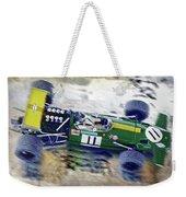 Jacky Ickx - Brabham Bt26 Weekender Tote Bag