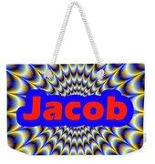 Jacob Weekender Tote Bag