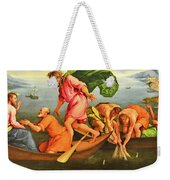 Jacopo Bassano Fishes Miracle Weekender Tote Bag