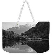 Jade Dragon Snow Mountain Weekender Tote Bag