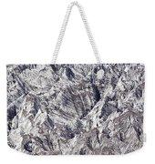 Jagged Glacier Weekender Tote Bag