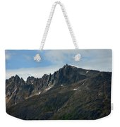 Jagged Mountain Weekender Tote Bag