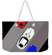 Jaguar E-type - 3 Times The Fun Weekender Tote Bag