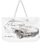 Jaguar E-type Weekender Tote Bag