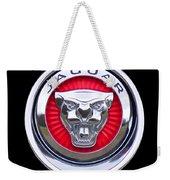 Jaguar Emblem Weekender Tote Bag