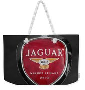 Jaguar Medallion Weekender Tote Bag