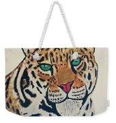 Jaguar Painting Weekender Tote Bag