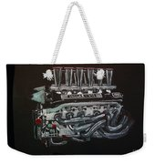 Jaguar V12 Twr Engine Weekender Tote Bag