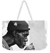 Jah, Rastafari Weekender Tote Bag