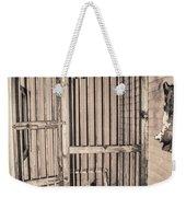 Jail House Interior Weekender Tote Bag