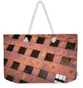 Rusty Jailhouse Door Weekender Tote Bag