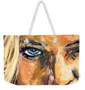 Jaime Pressly Weekender Tote Bag