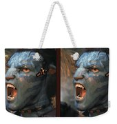 Jake Sully - Gently Cross Your Eyes And Focus On The Middle Image Weekender Tote Bag